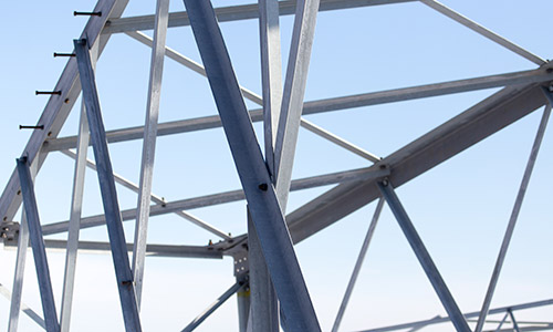 FF Metallbau Metallkonstruktion installiert