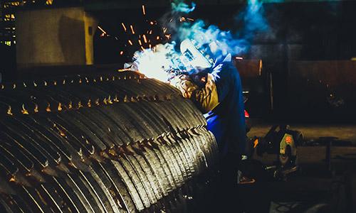 FF Metallbau Schweissarbeiten am Stahll