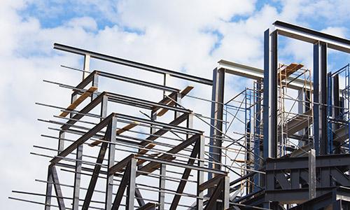 FF Metallbau Stahlbau Elemente montiert
